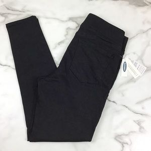 Old Navy Black Rockstar Skinny Jegging Jeans